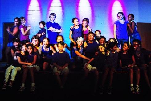 Cast of KLAMOR, July 2012