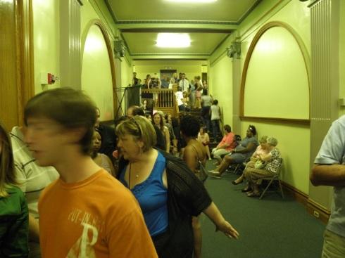 """Rent"" ticket line, July 2010"