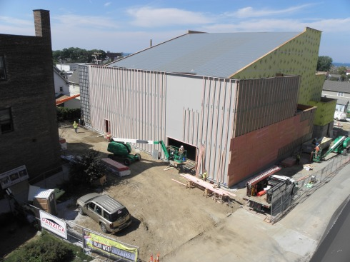 Overview from the southeast.