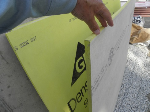 Gypsum is gold.